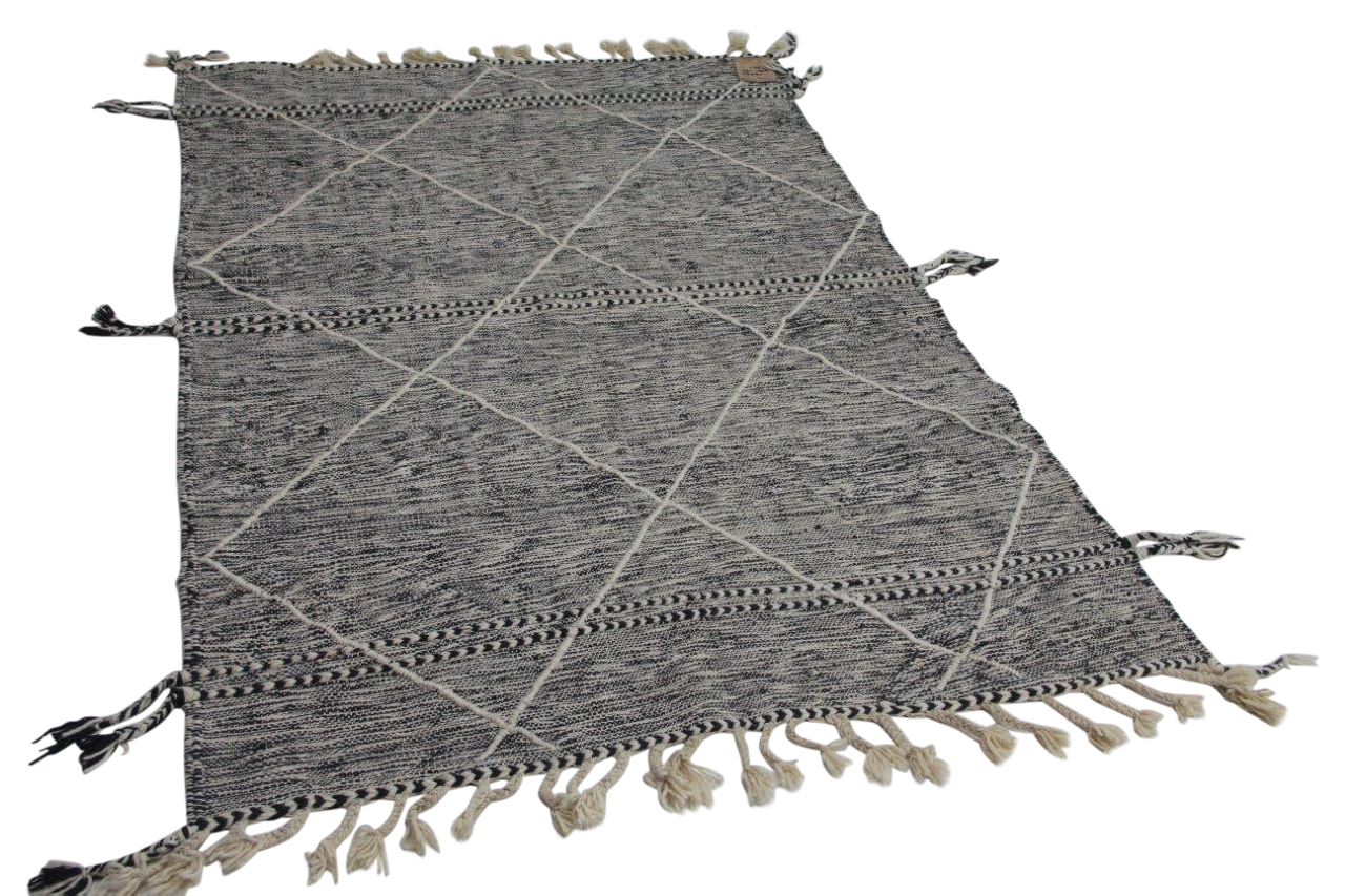 Plat geweven berber