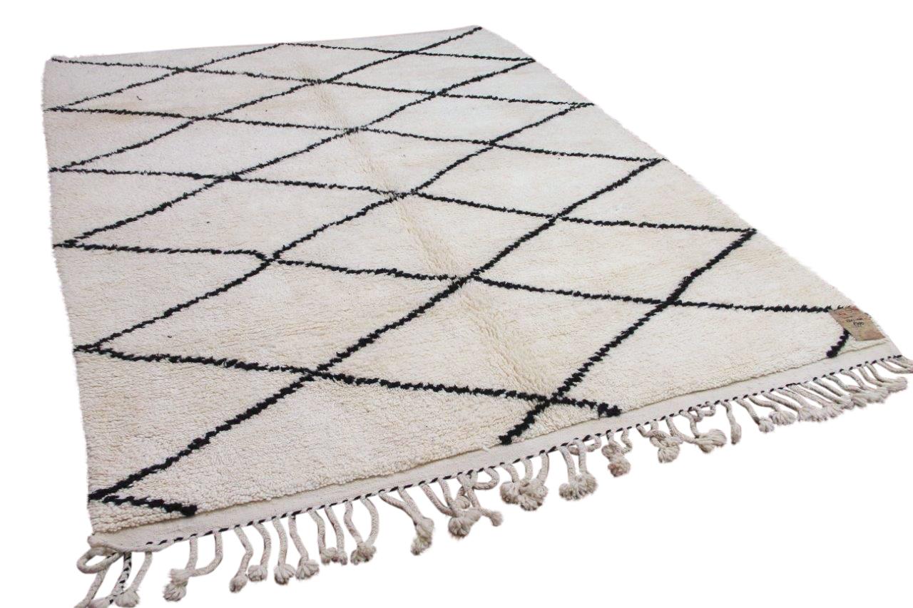 Beni ouarain hoogpolig vloerkleed uit Marokko 41417 275cm x 220cm
