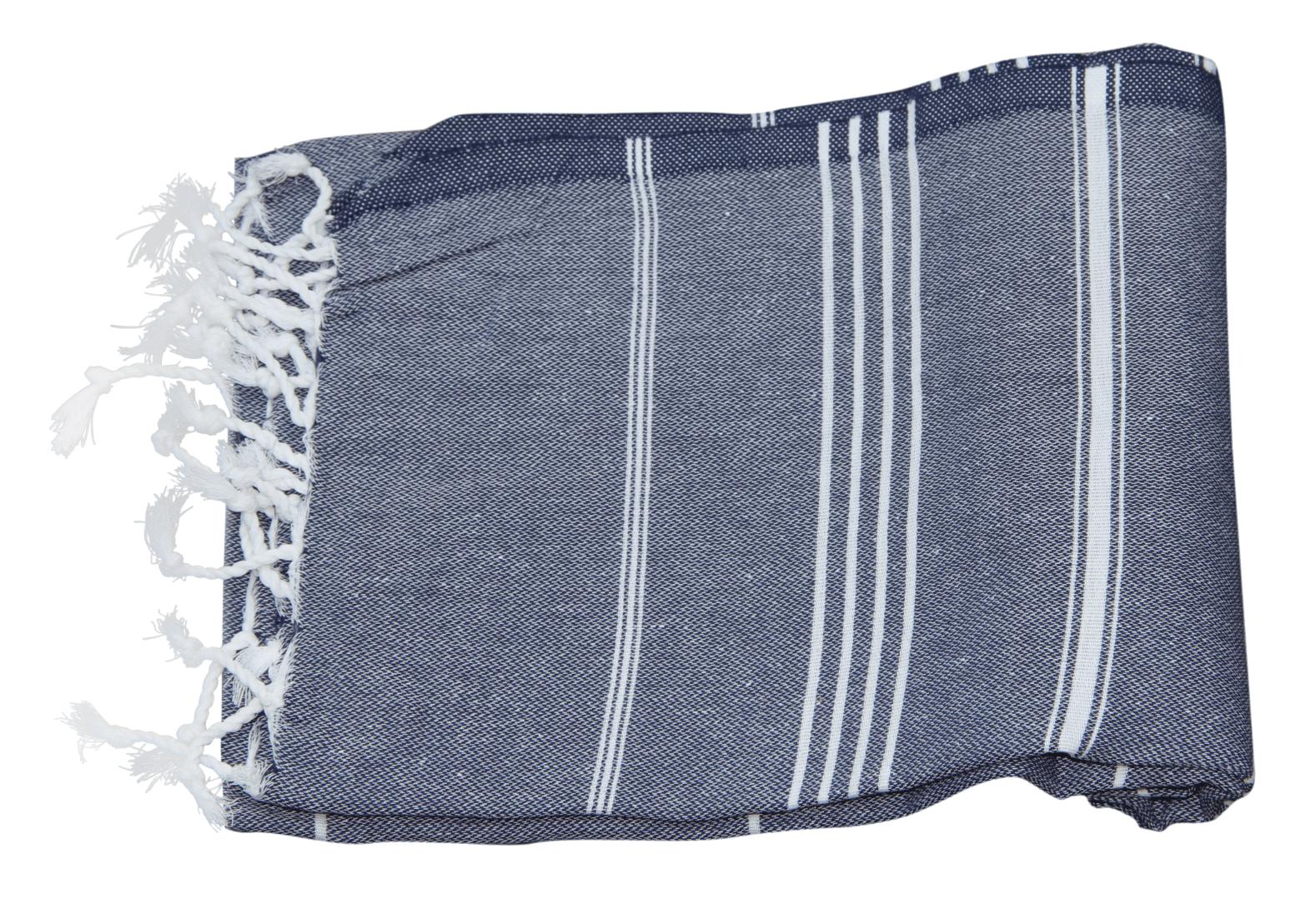Hamamdoek donkerblauw