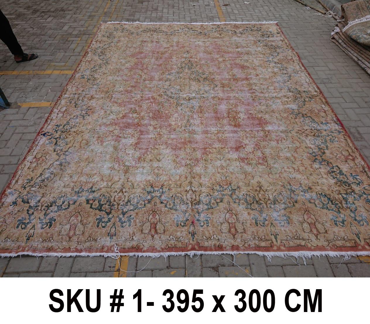Vintage vloerkleed, nr.62330, 395cm x 300cm