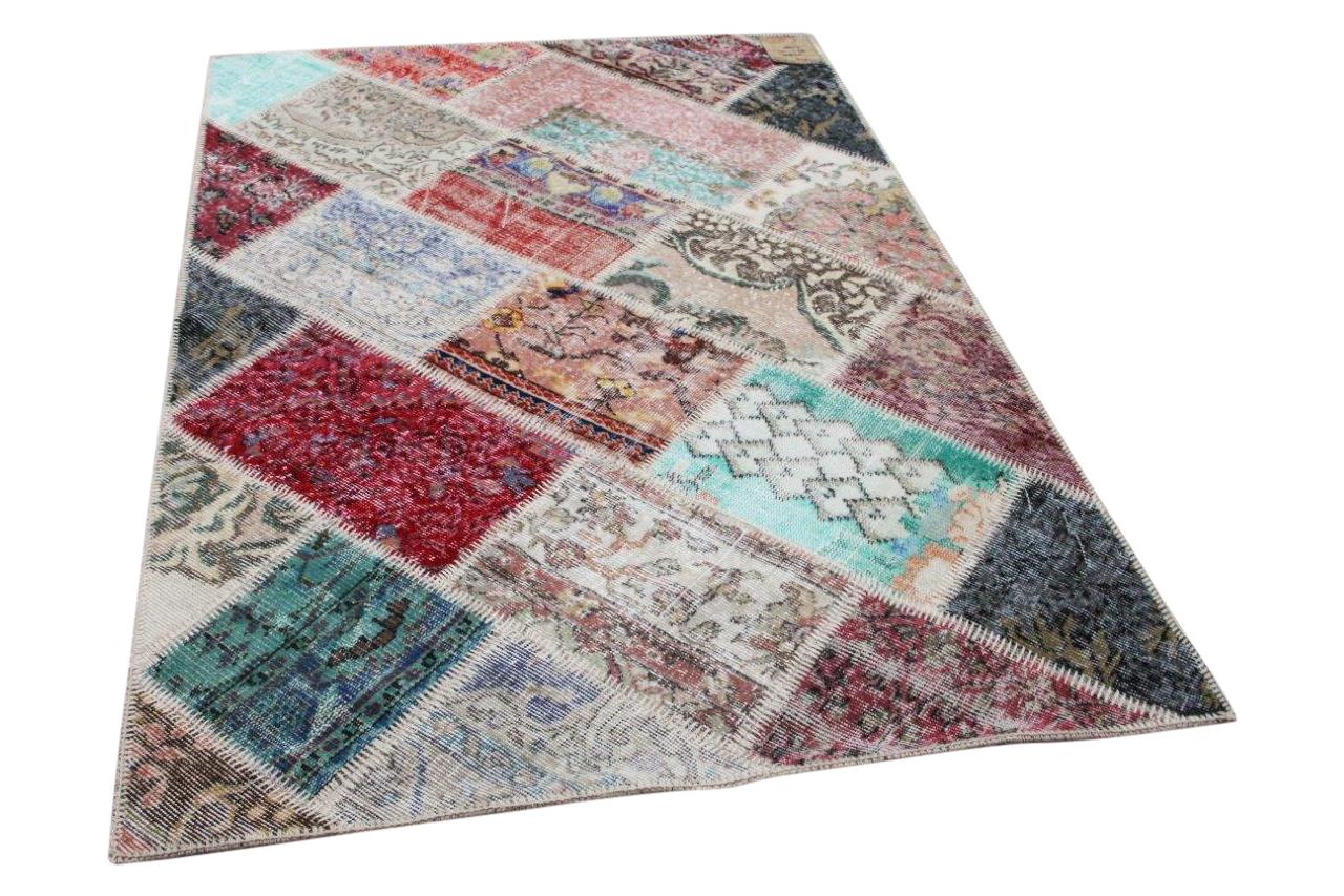 Patchwork vloerkleed diverse kleuren nr.35805 183cm x 122cm