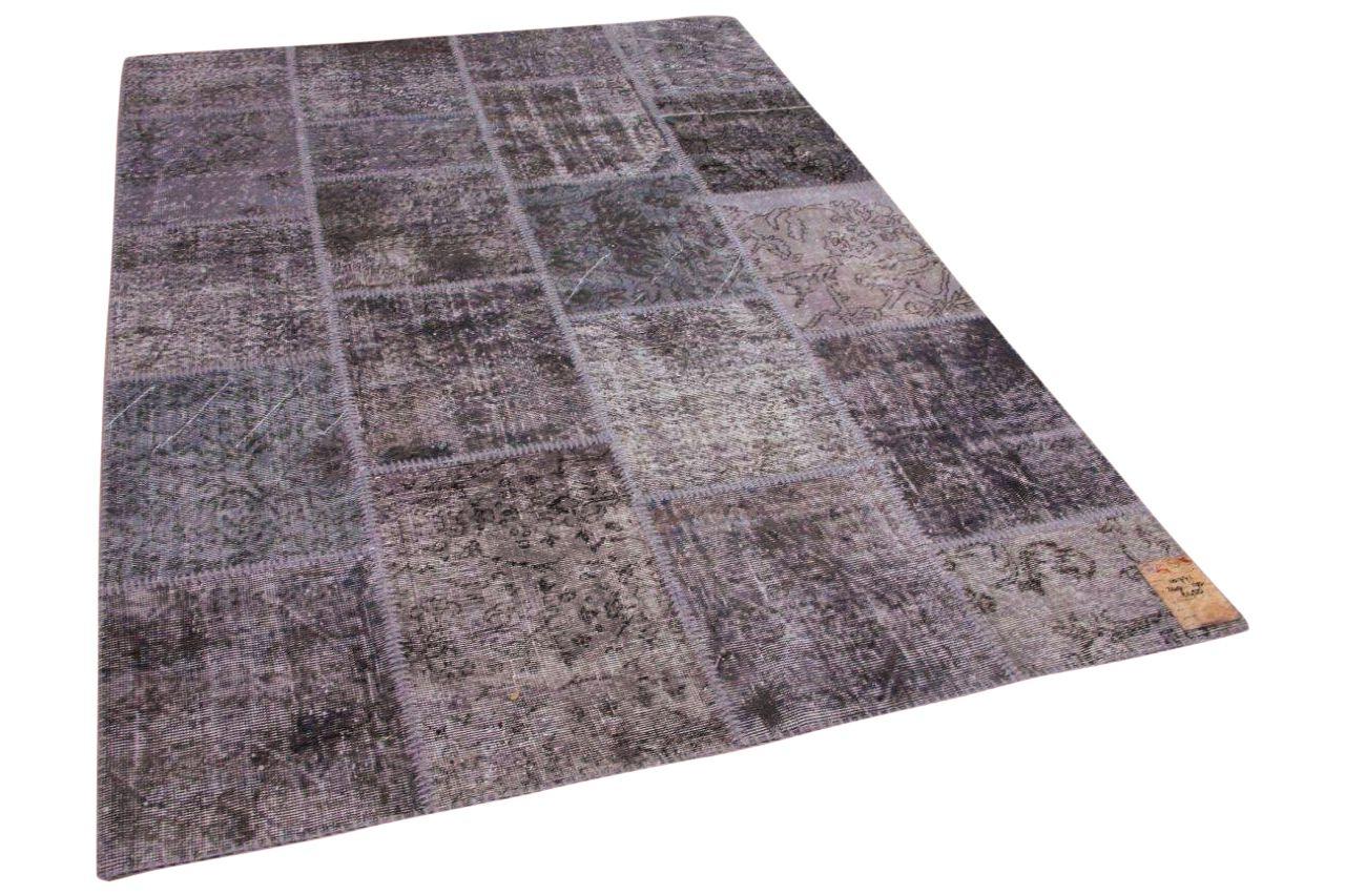 Patchwork vloerkleed grijs 10771 240cm x 170cm