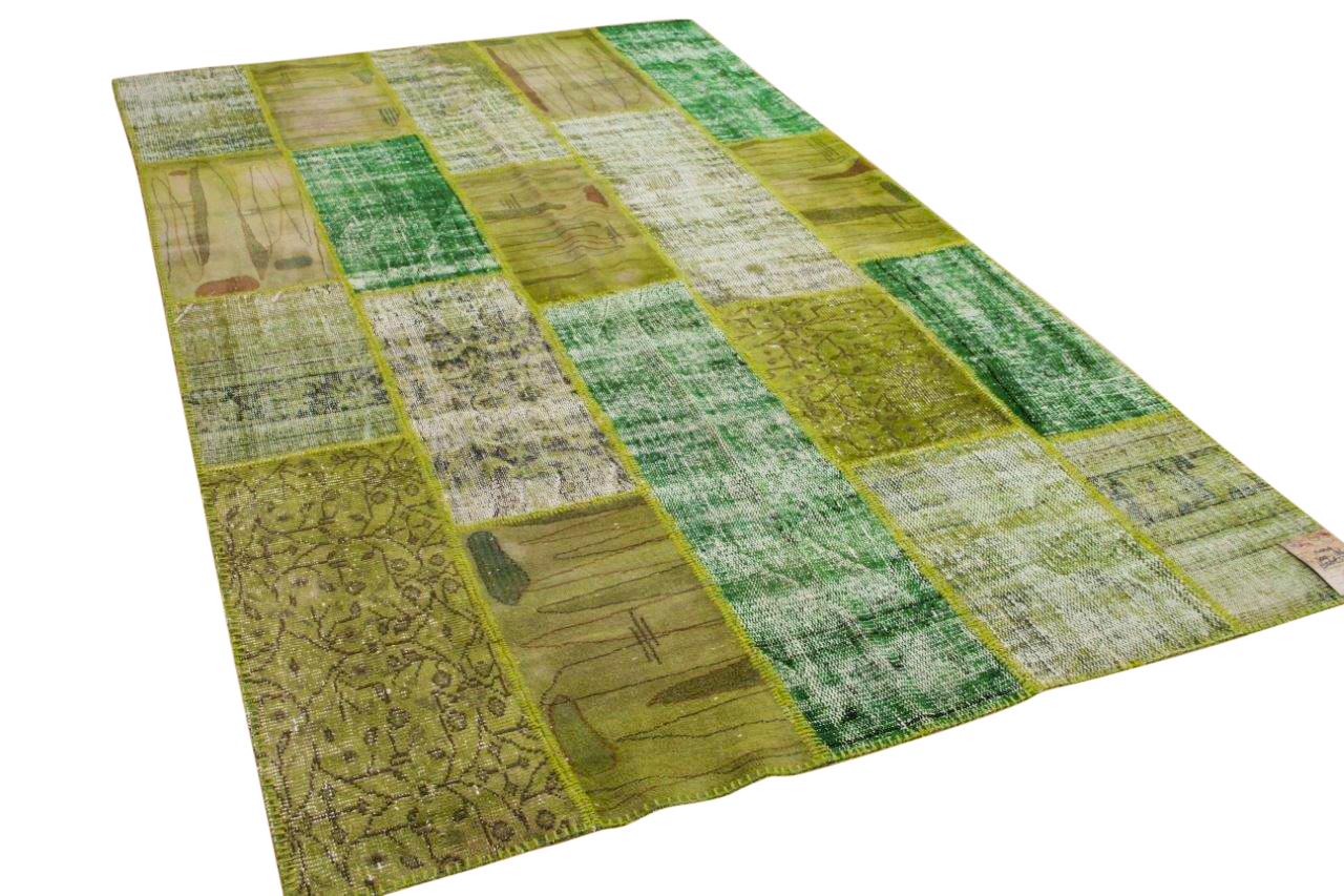 Groen patchwork