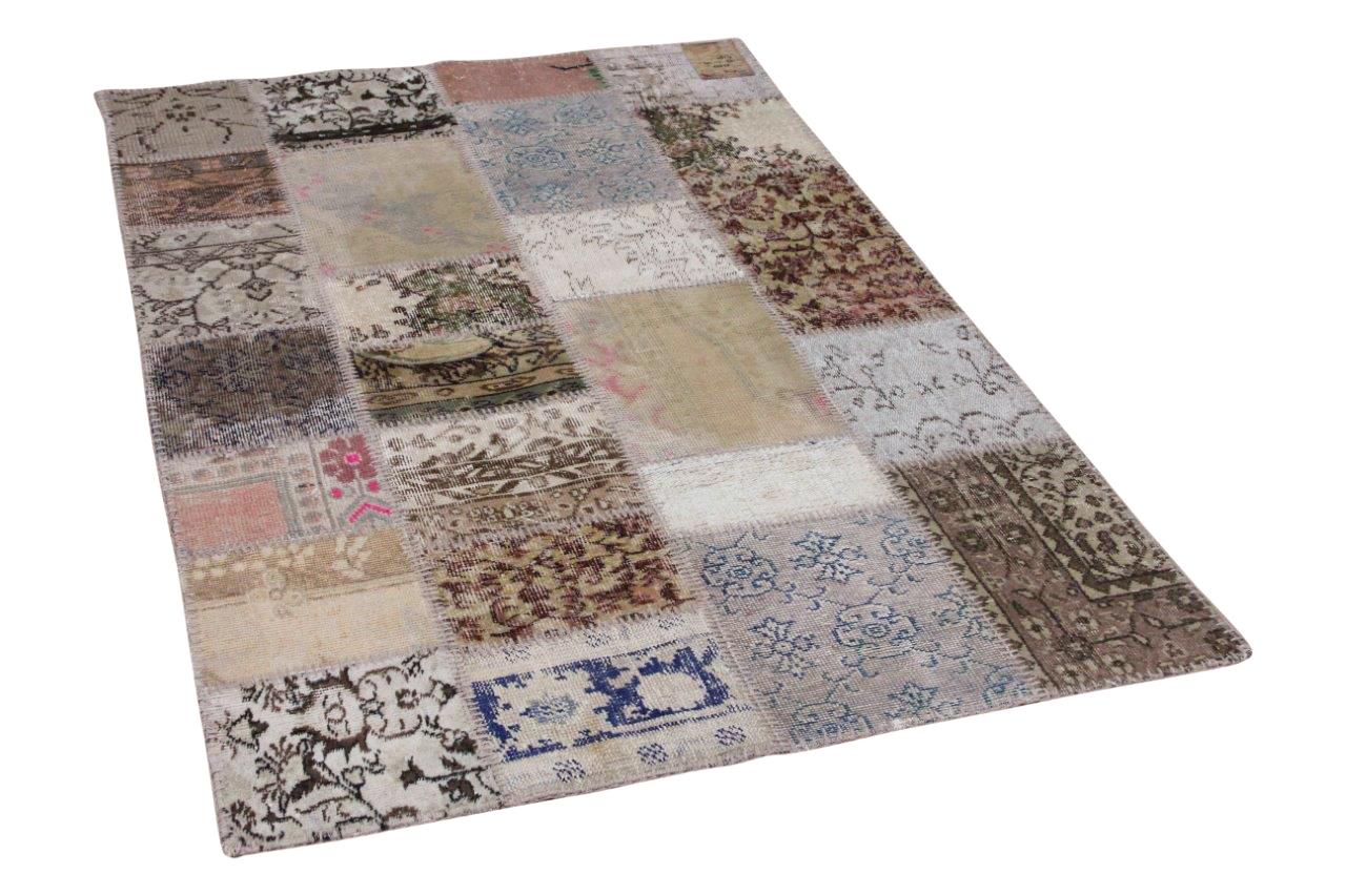 Patchwork vloerkleed diverse kleuren 180cm x 120cm 22333