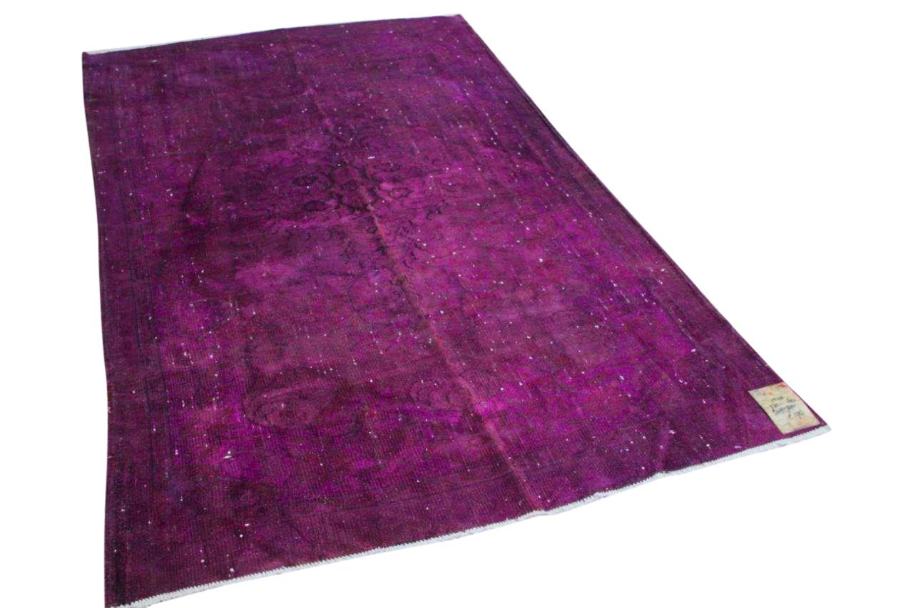 Vintage vloerkleed paars 1543 272cm x 160cm