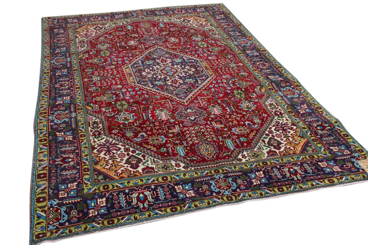 Vintage vloerkleed diverse kleuren 60023 298cm x 193cm