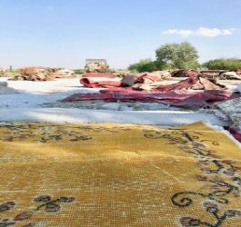 De kracht van een recolored tapijt
